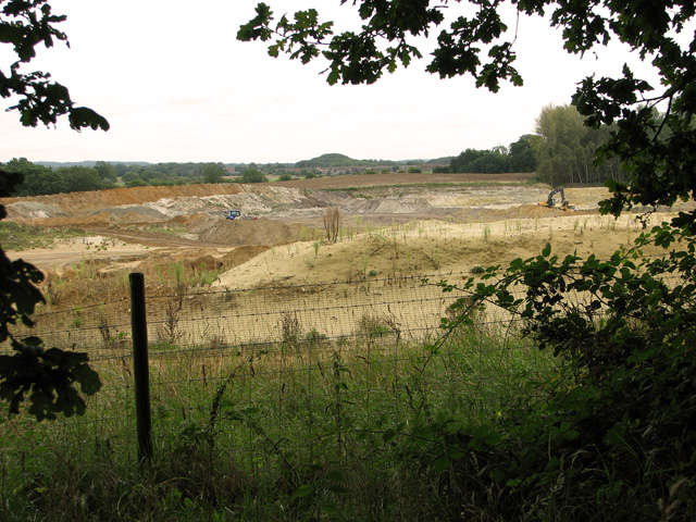 Sand extraction quarry, Middleton