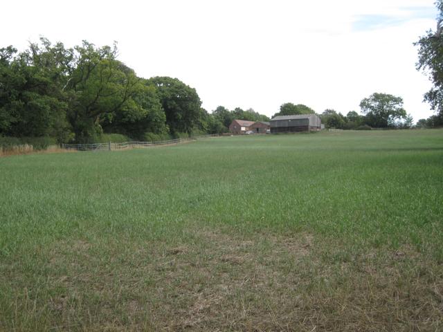 Field below Rock Farm, Four Oaks