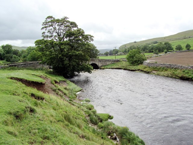 Lower Reaches of the River Skirfare