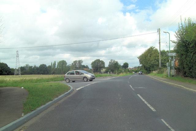 B2080 becomes Tenterden Road