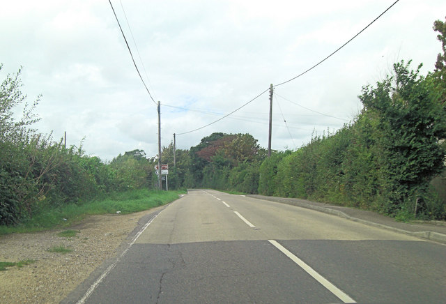 B2080 crossroads northwest of Appledore