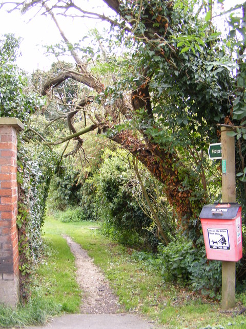 Footpath to Letheringham Mill