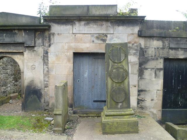 Daniel Stewart mausoleum, Old Calton Burying Ground