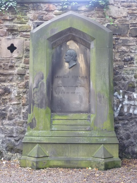 Grave of Archibald Constable, Old Calton