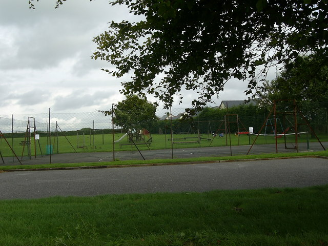 Play area and recreation ground, Clunderwen