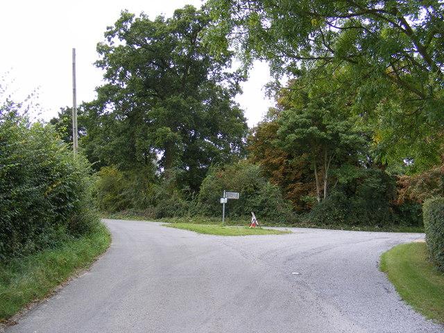 Monewden Road Junction