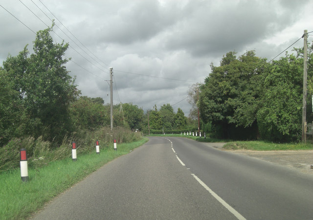 B2080 near Frenchay Farm