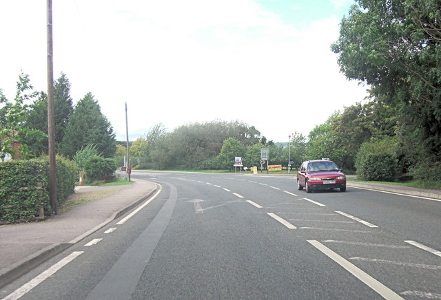 A28 junction with Cranbrook Road