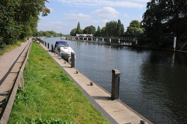 River Thames at Teddington