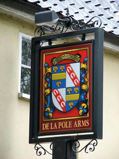The De La Pole Arms pub, Wingfield