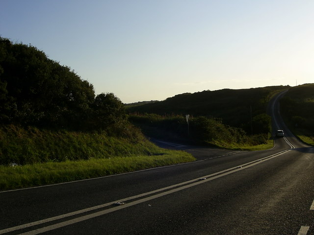 Road junction near St.David's