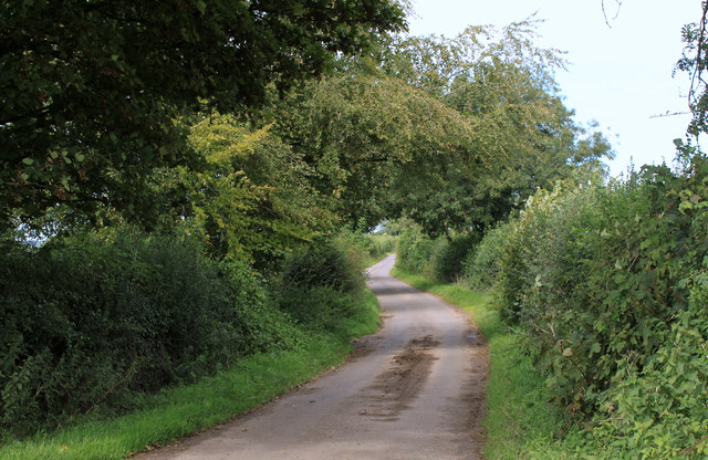 2011 : South on Cockpit Lane to Batcombe