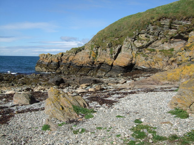 Niarbyl  near the fault