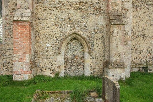 St Mary, Gunthorpe - Blocked doorway