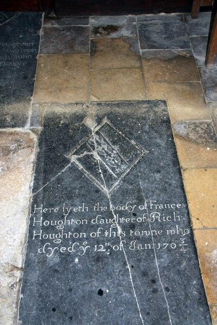 St Mary, Gunthorpe - Ledger slab