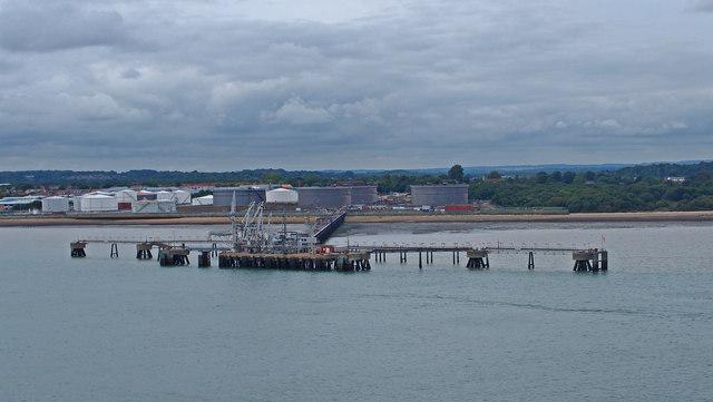 Hamble Oil Terminal Jetty