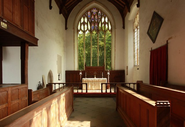 St Peter & St Paul, Heydon - Chancel