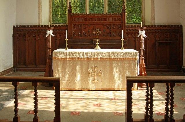 St Peter & St Paul, Heydon - Sanctuary