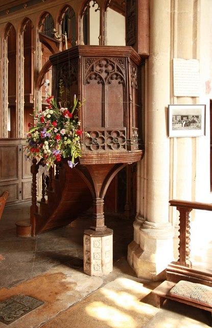 St Peter & St Paul, Heydon - Pulpit