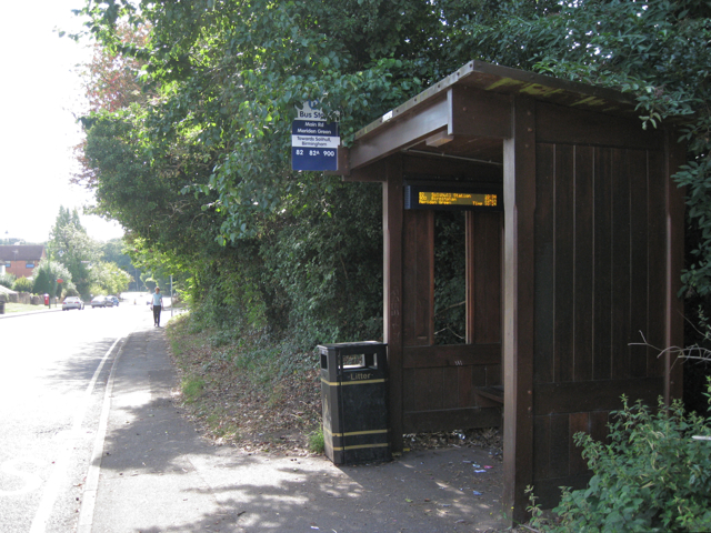 Connected bus shelter, Main Road