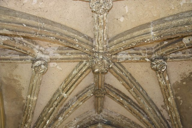 St Peter & St Paul, Heydon - Porch roof
