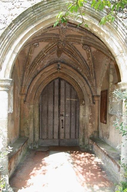 St Peter & St Paul, Heydon - Porch