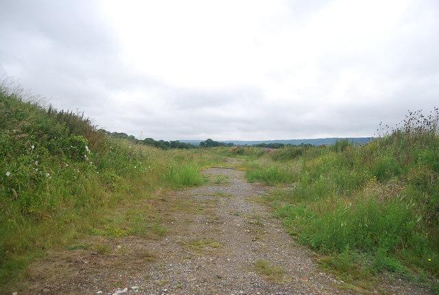 Footpath near the golf course
