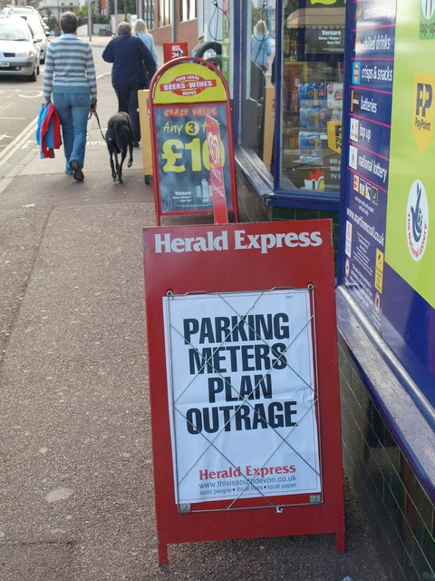 Parking meters plan outrage, Preston