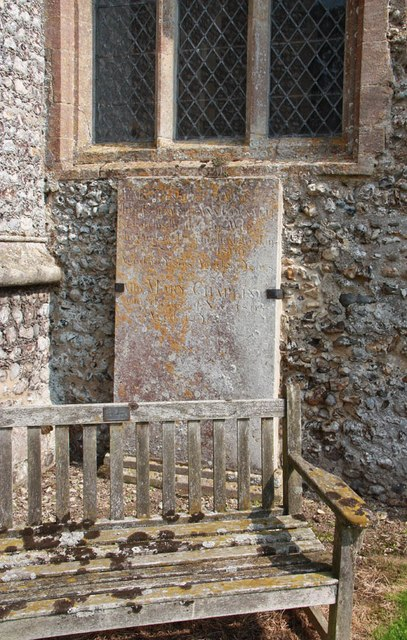 St Peter & St Paul, Heydon - Gravestone