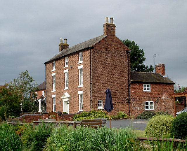 Brassworks Farmhouse south-east of Stone, Staffordshire