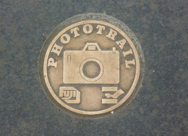 Fuji Phototrail plaque, Princes Street