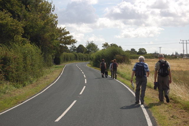 The Essex Way 159: Wrabness Road