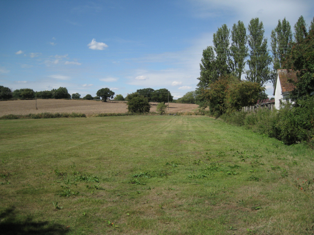 Fields north of Old Road