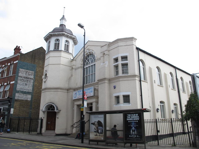 New Testament Church of God, High Road, NW2