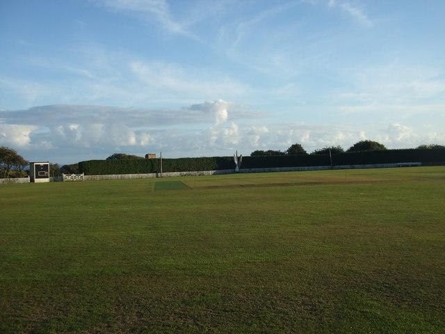 Rosudgeon & Kenneggy Cricket Club - Pitch