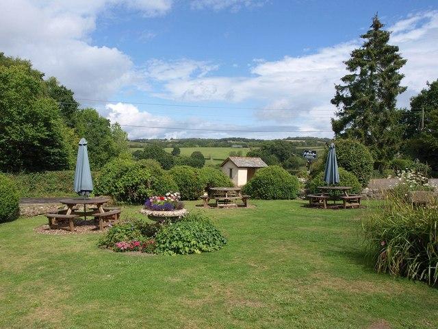 Garden, Nobody Inn, Doddiscombsleigh