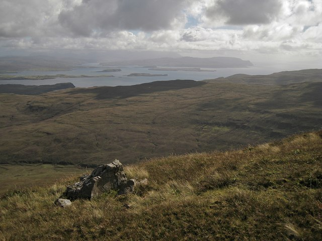 South east from Healabhal Mhòr