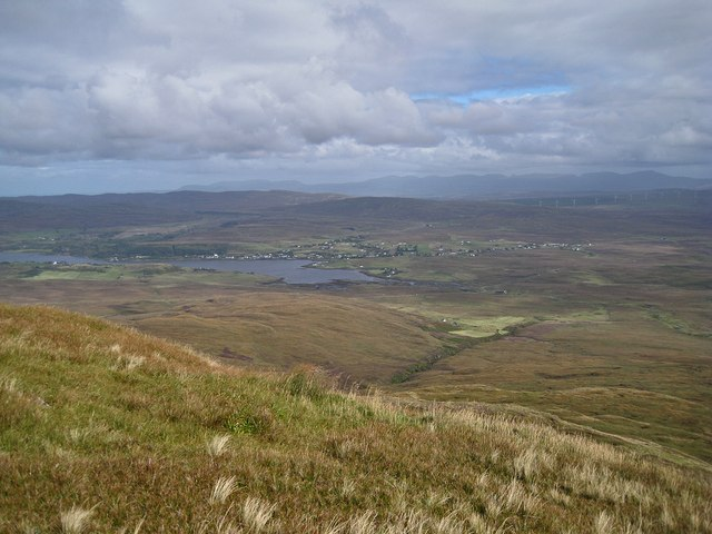 North East from Healabhal Mhòr