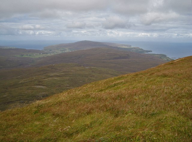 North west from Healabhal Mhòr