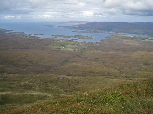 North from Healabhal Mhòr