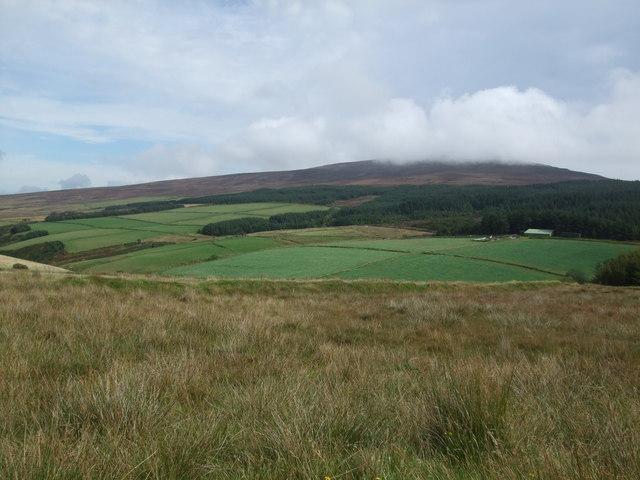 View from Bayr Ny Skeddan path