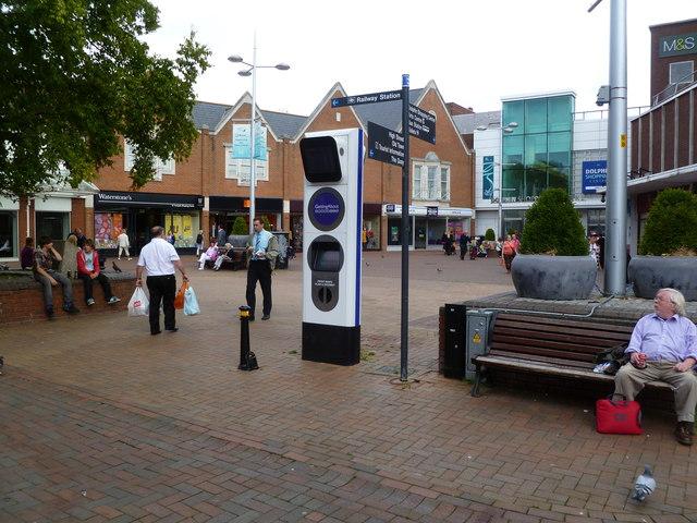 Poole, internet kiosk