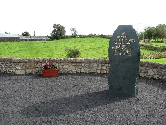 Mineworkers memorial stone