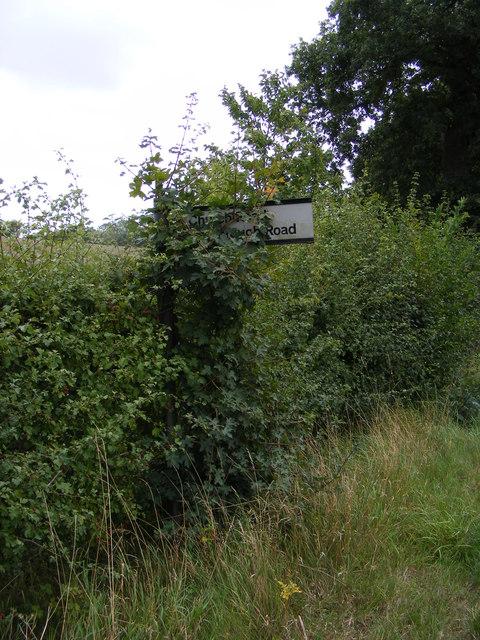 Church Road Roadsign