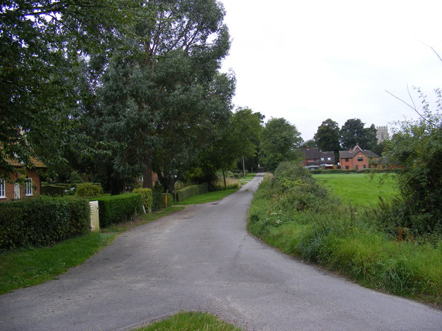 Church Road. Framsden