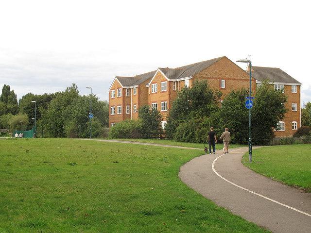 Housing development near Beddington Corner