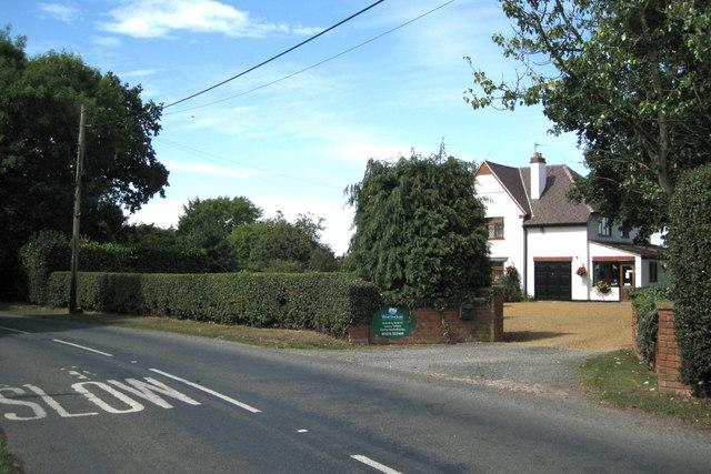 A white house, Back Lane