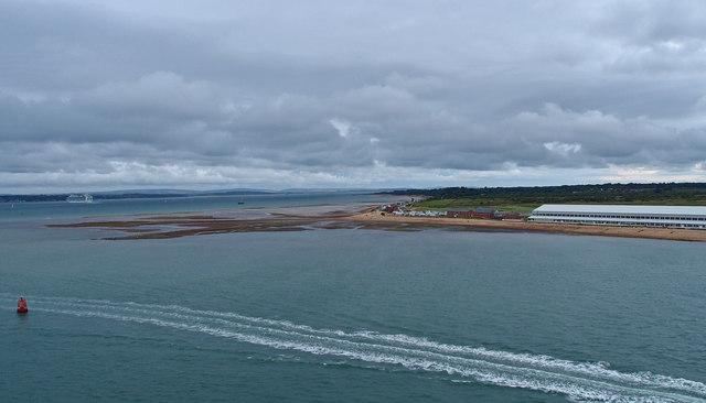 Calshot, Southampton Water