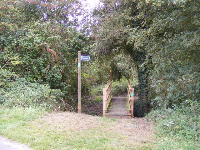 Footpaths to Yew Tree Farm & Otley Road