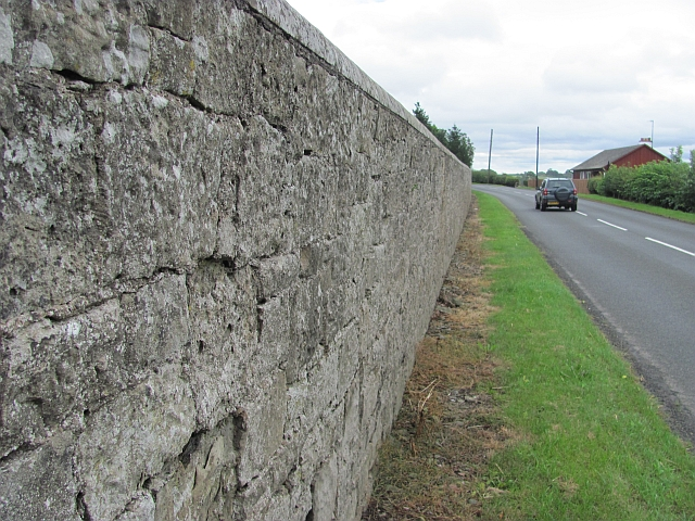 The wall, Hendersyde Park